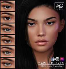 AG. Darling Eyes (Avi-Glam) Tags: ag aviglam sl mesh catwa omega genus appliers eyes