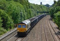 66738 - Clay Cross, Derbyshire (The Walsall Spotter) Tags: claycross north junction class66 diesel locomotive 66738 wellingborough rylstone tilcon gbrf derbyshire networkrail britishrailways uk freight