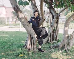https://www.instagram.com/kaku_foto/ (カク チエンホン) Tags: film kodak portrait people portra400 pentax 67 taiwan taipei girl