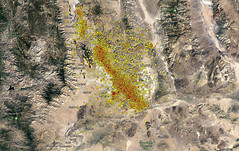 Ridgecrest CA Earthquakes last 7 days to 7-12-19 (DDM Imaging) Tags: map earthquakes earthquake ca california ridgecrest nature