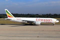Ethiopian Cargo  Boeing 777-F6N ET-APS (widebodies) Tags: liege lüttich lgg eblg widebody widebodies plane aircraft flughafen airport flugzeug flugzeugbilder ethiopian cargo boeing 777f6n etaps