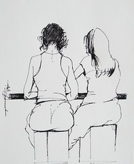 (Gasheh) Tags: art painting drawing sketch figure girl girls line pen gasheh 2019