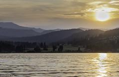 Waitts Lake Sunset (Dennis_R_Smith) Tags: waittslake sunset water lake mountains landscape evening clouds shadows sony easternwashington washingtonstate stevenscounty