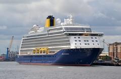 Spirit of Discovery Tyne 120719 (silvermop) Tags: ship boats ships sea cruiseships passengervessels port river tyne spiritofdiscovery