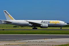 D-AALE (AeroLogic) (Steelhead 2010) Tags: aerologic boeing b777200f b777 cargo freighter yyz dreg daale