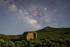 Mining Town Site (Jeff Sullivan (www.JeffSullivanPhotography.com)) Tags: abandoned mining town building milky way night ghosttown nevada usa travel photography nikon d850 photos copyright 2019 jeff sullivan july rural decay nikonnofilter