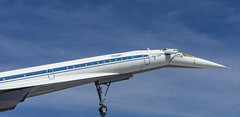 Tupolev TU-144 (Chickenhawk72) Tags: technik museum sinsheim germany tupolev tu144 russsia supersonic aircraft canard blue sky airplane cccp aeroflot 72112 concordski