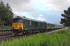 73969 (mike_j's photos) Tags: fortwilliam caledonian sleeper mk5 class73 73969 gbrf
