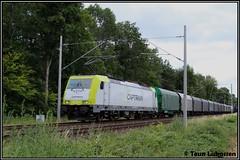 CT 186 155, Hüthum (07-07-2019) (Teun Lukassen) Tags: captrain ct br186 hüthum vallourec staaltrein treinen trains züge