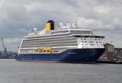 Spirit of Discovery. Tyne 120719 (silvermop) Tags: ship boats ships sea cruiseships passengervessels port river tyne spiritofdiscovery