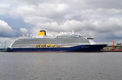 Spirit of Discovery.... Tyne 120719 (silvermop) Tags: ship boats ships sea cruiseships passengervessels port river tyne spiritofdiscovery
