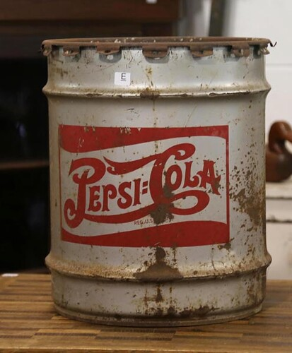 Pepsi-Cola Barrel ($39.20)