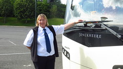 Our Driver Nicky (lizsmith) Tags: lochsandglens lochtummel
