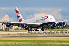 CYVR - British Airways A380-800 G-XLEE (CKwok Photography) Tags: yvr cyvr britishairways a380 gxlee