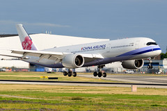 CYVR - China Airlines A350-900 B-18916 (CKwok Photography) Tags: yvr cyvr chinaairlines a350 b18916