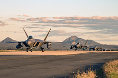 "F-22 Raptors taxi to their parking (#PACOM) Tags: exercisetalismansaberexercisetalismansabretalismansabre19ts19 australia brisbane queensland usindopacificcommand ""usindopacom"