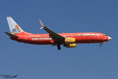 Boeing 737 -8K5 TUI FLY D-AHFZ 30883 Francfort Mai 2017 (Thibaud.S.) Tags: boeing 737 8k5 tui fly dahfz 30883 francfort mai 2017 tuifly cewefotobuch livery