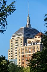 Top of the Berkeley Building (Eridony (Instagram: eridony_prime)) Tags: boston suffolkcounty massachusetts backbay skyscraper constructed1947