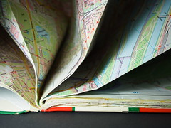 used map (Elisabeth patchwork) Tags: paper papier picofpaper map folded