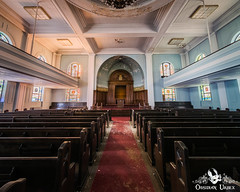 Sons of Israel Synagogue, USA (ObsidianUrbex) Tags: religious usa abandoned digitalphotography jewish photography synagogue urbanexploration urbex worship
