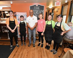 Queen City Creamery (MDGovpics) Tags: lt governor boyd k rutherford gov maryland