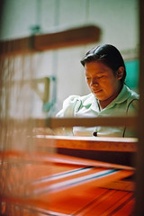 C&D07 (PuraVida Photo) Tags: codesse honduras intibucá development weaver weaving internationaldevelopment indigenous lenca indigenouswoman grassrootsdevelopment film kodachrome interamericanfoundation