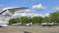 G-FFFC Cessna 510 Mustang, D-IRIS Cessna T303 Crusader, N843TE Eclipse EA-500, PH-LAW Cessna T310R (BIKEPILOT, Thx for + 5,000,000 views) Tags: gfffc cessna 510 mustang diris t303 crusader n843te eclipse ea500 phlaw t310r aircraft aeroplane aviation flying flight airport airfield aerodrome bizjet twin blackbushe eglk camberley surrey uk england britain