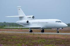 Dassault Falcon 900EX (D-AHER) (Sami Niemeläinen (instagram: santtujns)) Tags: joensuu suomi finland onttola efjo lentoasema lentokenttä airport ilmailu aviation lentokone aircraft aeroplane jet dassault falcon 900ex daher ilosaarirock