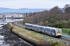 3005 leaving Londonderry, January 2019 (Photos by Nathan Lawrence) Tags: trains train northern ireland railways railway nir translink derry londonderry whitehead caf 3000 4000 class dmu bridge summer winter