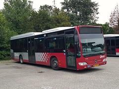 NLD Qbuzz 3113 ● Appingedam Busstation (Roderik-D) Tags: qbuzz31003301 3113 appingedambusstation bxfr94 2009 dieselbus euro5 mercedesbenz citaro2 o530ü savas bege überlandbus streekbus 2axle 2doors ivu gorba