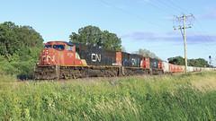 Ear Candy (Acronym Railroad) Tags: cn 5746 sd75i emd canadian national fond du lac wisconsin 5682 5784