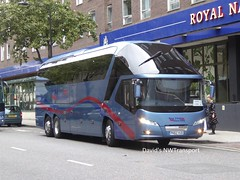 Sea View Coaches, [PK62VUD] - London, Russell Square (27/08/18) (David's NWTransport) Tags: seaviewcoaches pk62vud neoplanstarliner neoplan starliner