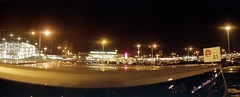 Schonelfeld airport (rrrisotto) Tags: horizonperfekt horizon202 panoramic swinglens 35mm barcelona fuji200