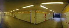 U Bahn (rrrisotto) Tags: horizonperfekt horizon202 panoramic swinglens 35mm barcelona fuji200