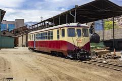 ADI-1015   Maestranza Los Andes (Felipe Radrigán) Tags: tren ferrocarril train railroad railway efe losandes transandino chile argentina mendoza schindler automotor dmu adi1015 1015 maestranza