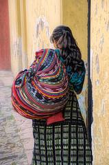 Guatemalan color (Pejasar) Tags: guatemala college 2015 antigua costume color cloth fabric street candid