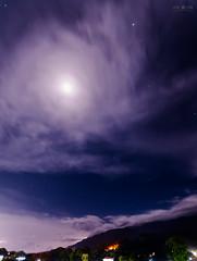 Paisaje nocturno (joe.joeoliva) Tags: nightscape night moon cloudy stars mountain landscape paisaje nocturno longexposure cielo estrellado nikon nikond3400 sigma1020mmexf35