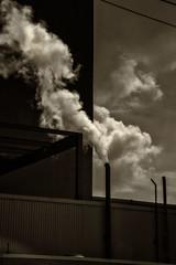 Steam--Dearborn, MI (PAJ880) Tags: steam steel plant rouge complex uss dearborn mi michican industry stacks