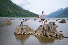 O & Bruce (luke.me.up) Tags: nikon z6 nikonz6 nikonmirrorless longexposure water lake stumps