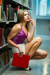 Reading is new sexy !! (pankaj.anand) Tags: 2019 2019portrait uktrain golden hair russian ladki seattle union unitstation universitystationseattle washington sony sonya7iii sonya73 85mm 85mmf18 portrait portraits sonyportraits winters stairs night nightshoot portrait2019 goldenhari goldenhair beautifulladki beautifulindiangirls beautifulgirl beautifulgirlportrait beautiful goldenhairgirl ukrain russiangirl godox godoxflash godoxv860ii cherry cherryblossoms blossoms uw uwquad quadatuw quad university univerysityofwashington denim jeans denimjacket naturallightportrait naturallight redtop whiteshortdress white library public redbra