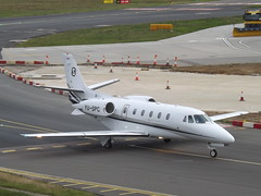 YU-SPC Cessna Citation 560XLS (Prince Aviation) (Aircaft @ Gloucestershire Airport By James) Tags: luton airport yuspc cessna citation 560xls prince aviation bizjet eggw james lloyds