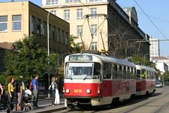 2008-08-27 Praha Tramway Nr.8218 (beranekp) Tags: czech praha prague prag tramvaj tram tramway tranvia strassenbahn šalina elektrika električka tatra t3 8218