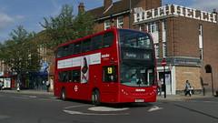 Ex-Greenford 114 (londonbusexplorer) Tags: metroline west dennis trident adl enviro 400 te1737 sn09cfm 114 ruislip mill hill broadway tfl london buses