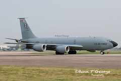KC135R-D-63-8019-16-4-11-RAF-MILDENHALL-(2) (Benn P George Photography) Tags: rafmildenhall 16411 bennpgeorgephotography c17a mcchord 021107 kc135r d 623499 638019 macdill 638027 mcdonnelldouglas boeing usairforce usaf nikon d300s nikon7020028