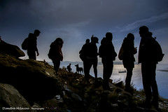 Together (dimitra_milaiou) Tags: together friends blue sky sea travel walking greece athens light reflections nikon d 7100 d7100 silhouette silhouettes black lavrio vodafone dog man woman people portrait portraiture wind live love life alive walk mountain up diagonal milaiou dimitra happy happiness vodafonegreece ngc