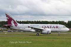 A319-133X.ACJ A7-MED QATAR EXECUTIVE (shanairpic) Tags: corporatejet executivejet bizjet a319 airbusa319 acj shannon qatarexecutive a7med