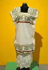 Huipil Maya Yucatan Mexico Textiles (Teyacapan) Tags: maize embroidered huipils textiles maya yucatan mexico museum ropa clothing