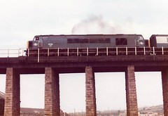 45150 Hayle Viaduct April 1983 (clivepsmithmarch1960) Tags: 45150 hayle