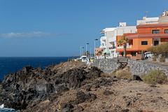 Los Abrigos, Tenerife, Canary Islands (wildhareuk) Tags: canaryislands canon canoneos500d losabrigos sea seascape spain tamron18270mm tenerife tenerife2019 village water building rock tamron img9527dxo