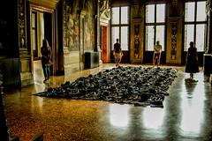 Kounellis. Fondazione Prada. Venezia 1 (blu69) Tags: venezia venice kounellis fondazione prada